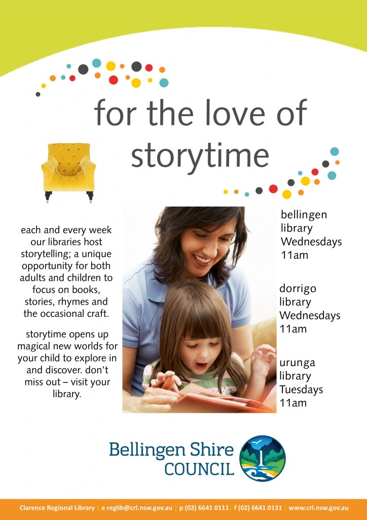 BSC Storytime poster