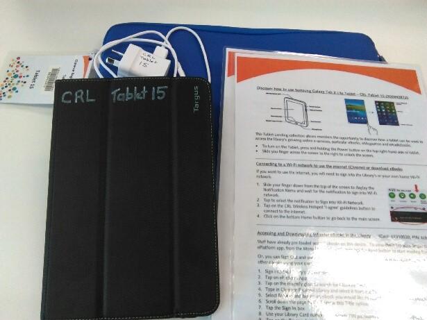 Lending tablet
