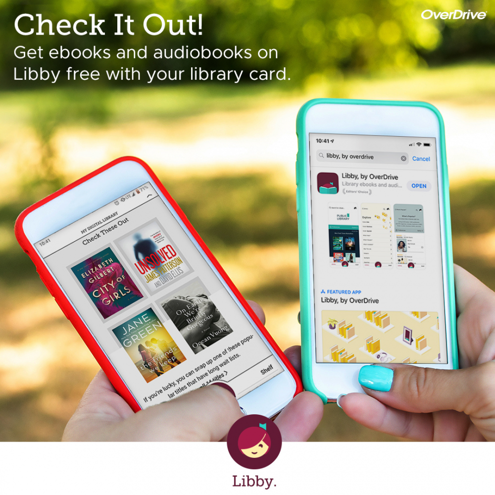 The Libby app is coming.