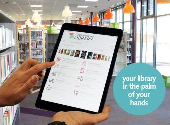 library app slider