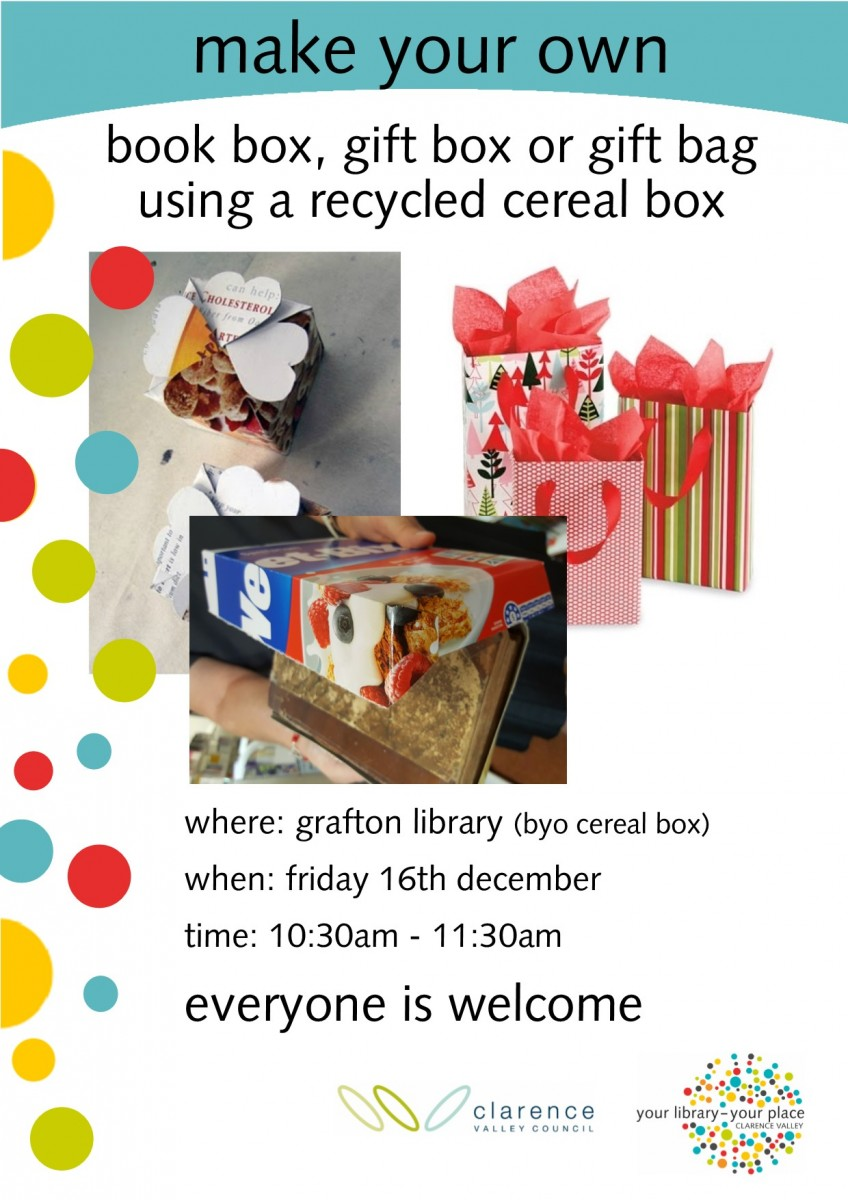 Make Your Own Clarence Regional Library